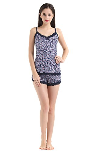Vokul ®-morbida comfort-socks & Nightgrown Set pigiama C-Blue