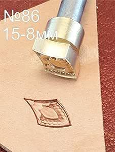 Adler Leder-Stempel f/ür Lederhandwerk Messing #89