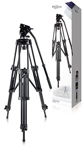 König KN-TRIPOD110N Profi-Dreibeinstativ für Videokamera