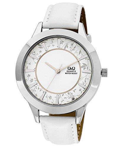 Q&Q Regular Analog White Dial Women's Watch - Q845-301Y image
