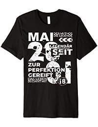 18. GEBURTSTAG JAHRGANG 2001 MAI VINTAGE T-SHIRT
