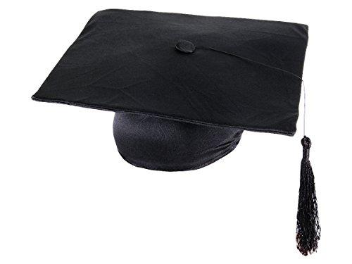 Set di 4 tocchi di laurea, cappelli da laureato, maturità pileo berretto universitario dottore università festa