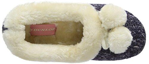 Dunlop - Alais, Pantofole Donna Blu (Blu (Navy))