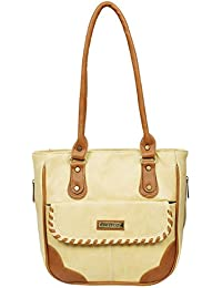Fantosy Women Beige And Tan Charry Handbag Fnb-684