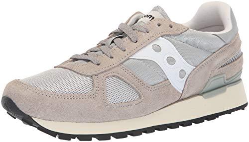 Saucony Shadow Original Vintage, Sneaker Unisex-Adulto, Grigio (Grey/White 1), 43 EU