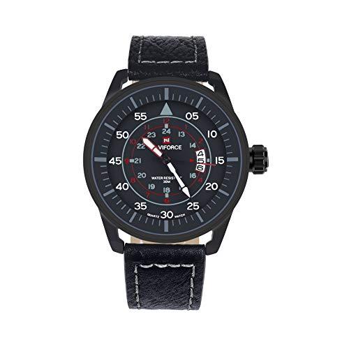 Dictac Reloj Hombre de Cuarzo Impermeable para Masculino la Moda de Lujo