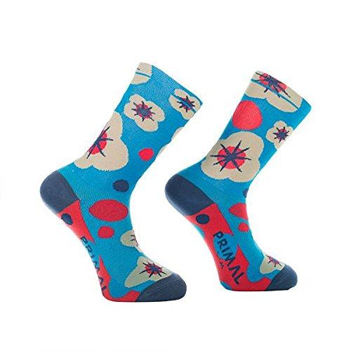Primal Wear Damen Floral Explosion Cycling Bike Socken, Mehrfarbig, Size 9-13/Large/X-Large (Primal Wear-air)