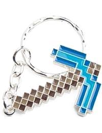Minecraft Diamond Pickaxe Keychain