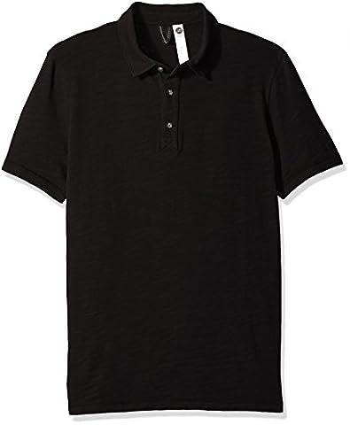Vimmia Men's Alpha Polo, Black, Medium