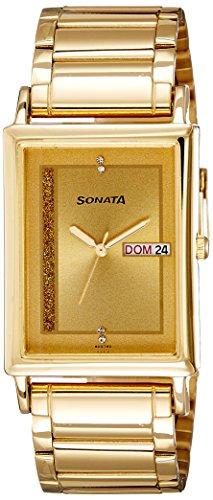 410Cxh0sVRL - Sonata 77003YM04 Mens watch