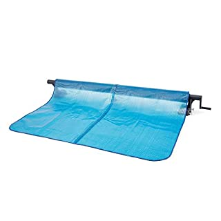 Intex 28051 Enrouleur, Bleu, Da 2.74 a 4.88 metri