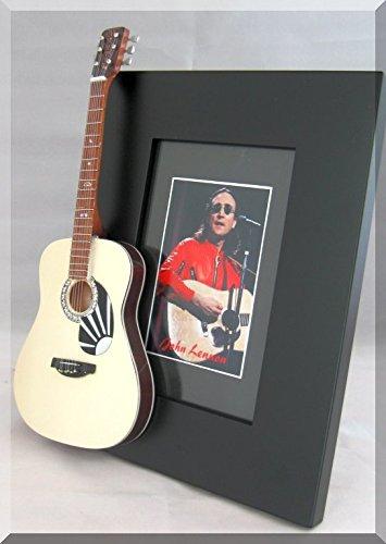 John Lennon Guitarra en miniatura Marco Martin D-2875Aniversario