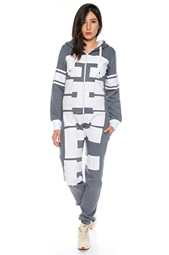 Crazy Age Jumpsuit Chill Overall One Piece Hausanzug -