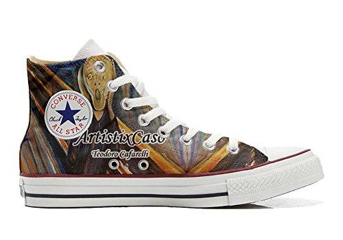 Converse All Star chaussures coutume (produit artisanal) Urlo di Munch
