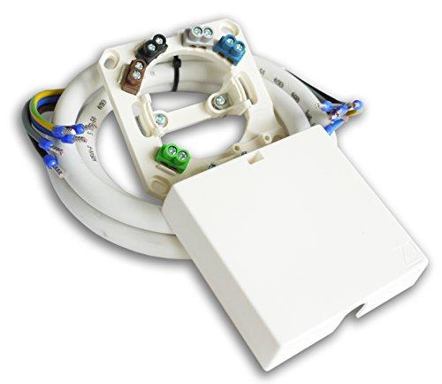 Herdanschlußset 7m Herdanschlusskabel H05VV-F 5G2,5 inkl. Herdanschlussdose AP/UP