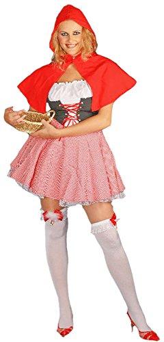SEXY ROTKÄPPCHEN Kostüm Petticoat Damen Gr. (Damen Rotkäppchen Kostüme Erwachsene Dunkles)