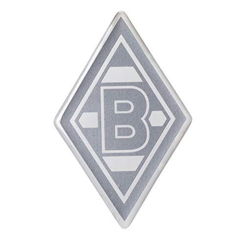 Borussia Mönchengladbach Aufkleber Kunstharz Raute Silber VFL