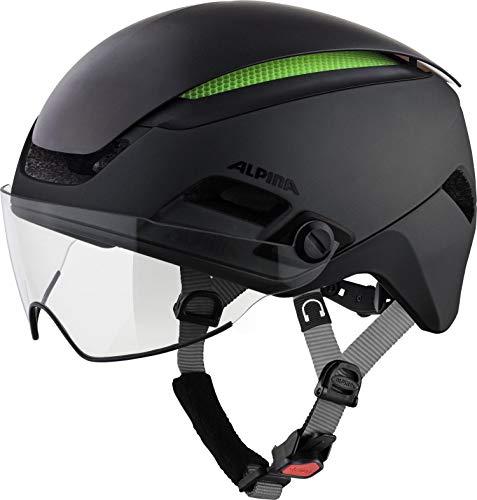 Alpina Unisex- Erwachsene ALTONA M Fahrradhelm, Black, 57-62 cm