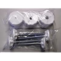 Bettacare Range of Stair Gates Spare Fitting Packs and End Covers (Bettacare Pet Gates/Easy Fit Gate Fittings White)