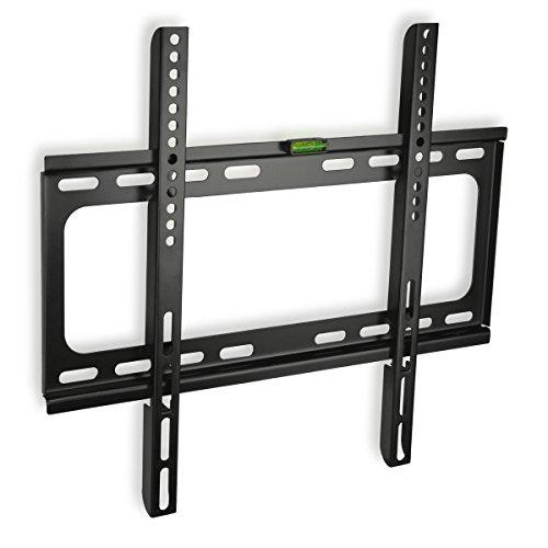 minify CZ60 - extra Flache TV Wandhalterung bis VESA 400x400 für 32 40 55 Zoll Fernseher Halterung Halter