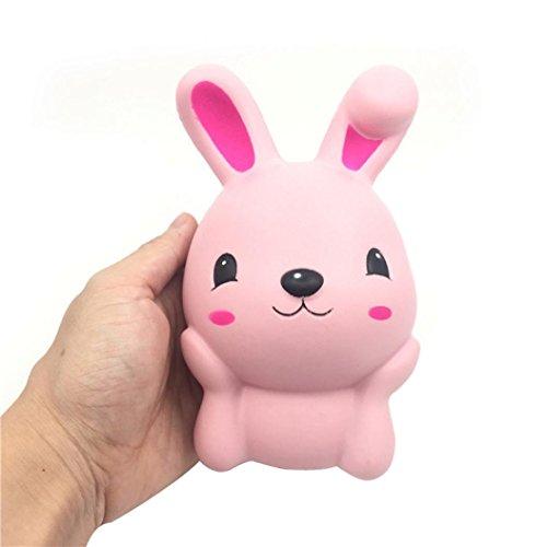 Preisvergleich Produktbild Squishy Stress Spielzeug,  Holeider Rosa Nettes Kaninchen Squeeze Geschenk Rising Toys (Rosa)