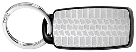 Troika , Uni Schlüsselanhänger Silber Silver/ Black 6 cm