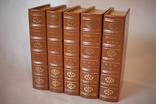 Plutarch's Lives of the Noble Greeks and Romans in 5 Volumes