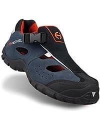 Heckel macsole ® Sport Macair S1P HRO SRA-Cordones de zapatillas y de seguridad-sandale metal 100% libre