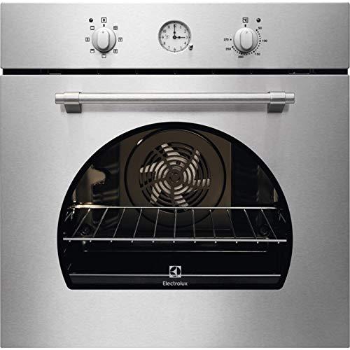 Horno eléctrico ventilado multifunción con grill 72Litros Clase A ancho 60cm función Pizza Color inoxidable–FR 65x infispace–Linea rústico