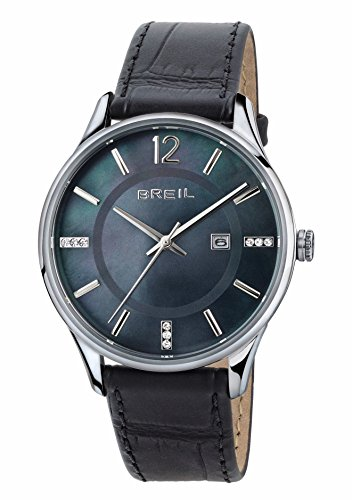 Breil orologio analogico quarzo donna con cinturino in pelle tw1564