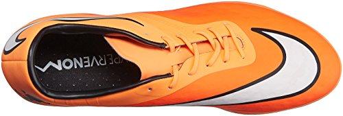 Nike HYPERVENOM Phatal FG, Chaussures de Football homme Hypr Crmsn/White/Atmc Orng/Blk
