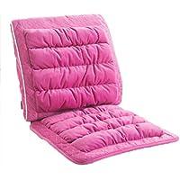 Preisvergleich für JianMeiHome Kissen Stuhlkissen Sitzkissen Büro Siamesisches Kissen Home Rückenlehne Esszimmerstuhl Kissen Abnehmbar (Color : Pink)