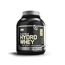 Optimum Nutrition Platinum Hydrowhey, Turbo Chocolate, 3.5Lb 4/Cs