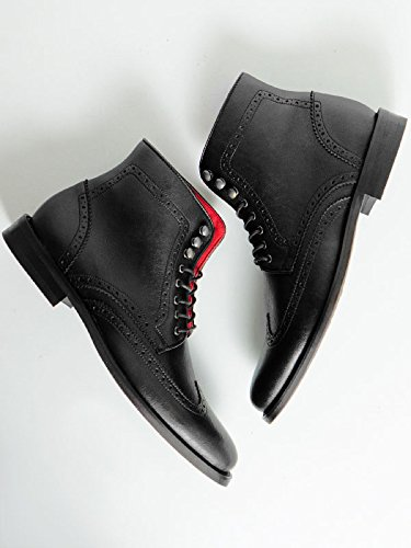 Will's Vegan Shoes Brogue boots-UK 14/EU 48/US 15