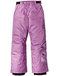 Niña Pantalón de snowboard esquí Pantalones Pantalones para la nieve invierno Pantalón 158/164Lila