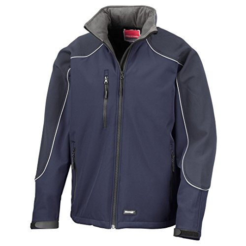 Result Work-Guard Ice sensation à capuche veste softshell Bleu Marine