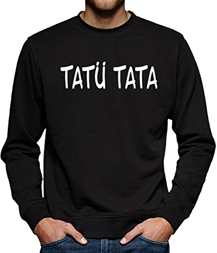 TLM Tatü Tata Sweatshirt Pullover Herren L (Halloween Kostüme Polizei Party Stadt)
