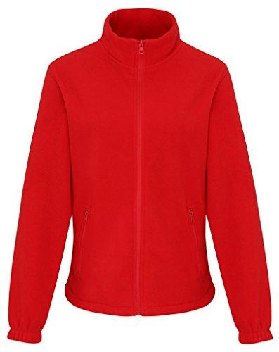 MAKZ Damen Mantel Rot