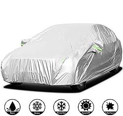 SOFTGARAGE 3-lagig schwarz Indoor Outdoor atmungsaktiv wasserabweisend Car Cover Vollgarage Ganzgarage Autoplane Autoabdeckung