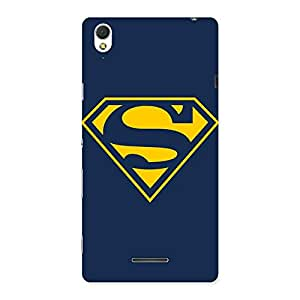 Cute Premier Yellow Day Multicolor Back Case Cover for Sony Xperia T3