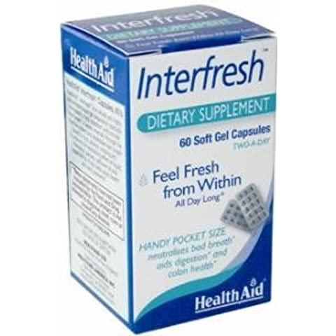 Health Aid, InterfreshTM (Fresh Breath Capsules) - 60 Caps by