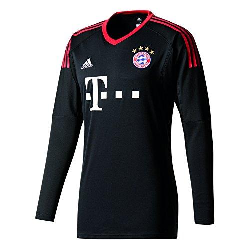 adidas FCB H Gk JSY Camiseta de equipación-Línea FC Bayern de Munich, Hombre, Negro/rojfcb/Blanco, M