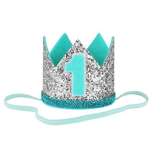 IEFIEL 1 Años 2 Años Diadema Cumpleaños Dorado