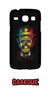 Caseque Monkey Boss Skull Back Shell Case Cover For Samsung Galaxy Core