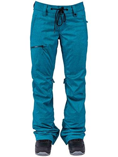 Nitro Snowboards Tate Ocean Pantalones, Mujer, Azul, S