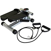 Preisvergleich für Stepper mit Expander Trainingscomputer Aerobic Swing-Stepper