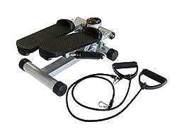 Stepper mit Expander Trainingscomputer Aerobic Swing-Stepper