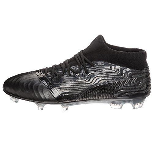 Puma Chaussures One 18.1 FG Pour Hommes Puma Black/Puma Black/Asphalt