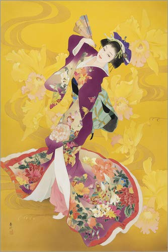 Posterlounge Cuadro Sobre Lienzo 40 x 60 cm: Ouran de Haruyo Morita/MGL Licensing - Cuadro Terminado, Cuadro Sobre Bastidor, lámina terminada Sobre Lienzo auténtico, impresión en Lienzo