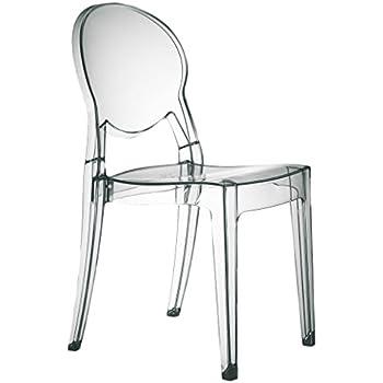 set di 4 sedie igloo chair in policarbonato trasparente